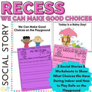 Classroom Management Social Skills Indoor and Outdoor Recess