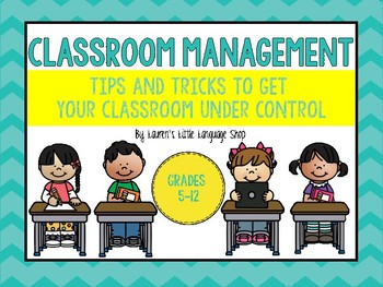 Classroom Management Strategies and Tips