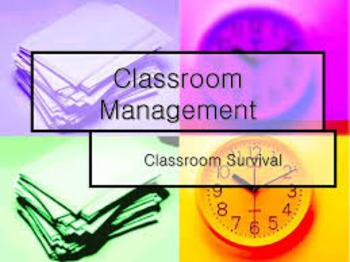 Classroom Management Daily Survival Chart