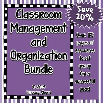 Classroom Management | Classroom Organization | Bundle | G