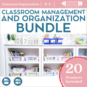 Classroom Management and Organization Bundle