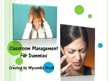 Classroom Management for Dummies