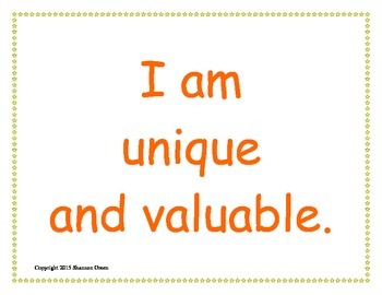 Classroom Mantras Posters