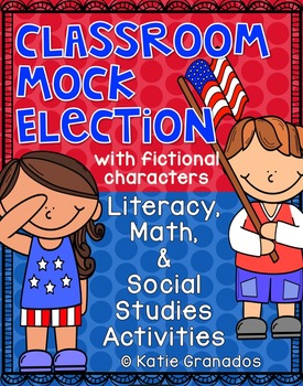 Classroom Mock Election for President with Fictional Chara