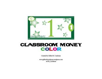 Classroom Money in Color