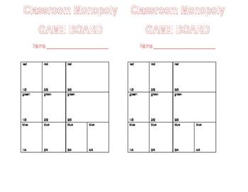 Classroom Monopoly