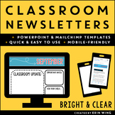 Newsletter Templates for the Classroom: Bright and Basic