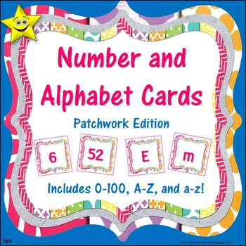 Number and Alphabet Cards, Patchwork