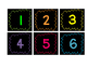 Classroom Numbers {Black and Bright}