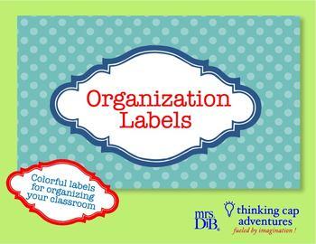 Organization Labels - Artwork ** ORIGINAL ARTWORK