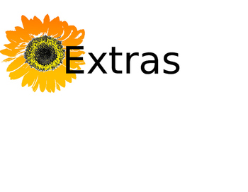 "Classroom Organization Wire Basket Signs Sunflower Theme """