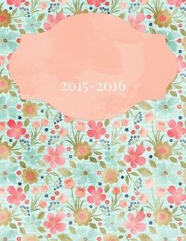 Classroom Organizer 2015-2016
