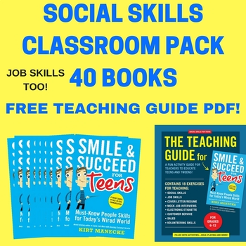 Classroom Pack-40 Books: Smile & Succeed for Teens. Specia