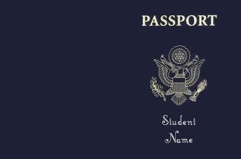Classroom Passport Editable