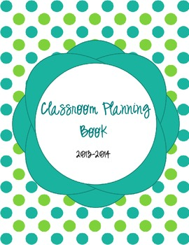 Classroom Planner Dividers
