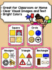 Classroom Poster: Math: 2D Real Life Shapes