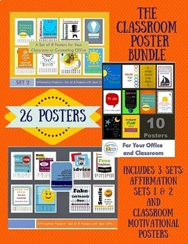Classroom Poster Pack Bundle