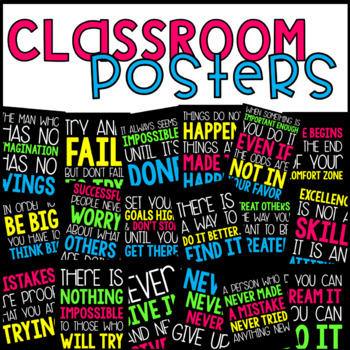 Classroom Posters