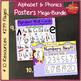 Alphabet, Word Wall, Name Plates, Phonics, CHARTS 299 page