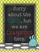 Classroom Printable Motivational Poster Set