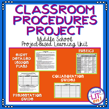 Classroom Procedures Project - A Middle School Project-Bas