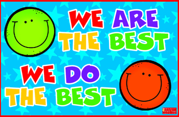 Classroom Quote Poster We are the Best