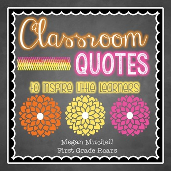 Classroom Quotes to Inspire Little Learners