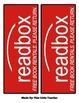 """Classroom """"Readbox"""" Labels - Free Book Rentals. Please Ret"""