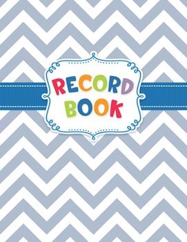 Classroom Record Book - Chevron