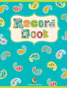 Classroom Record Book - Dots on Turquoise