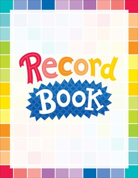 Classroom Record Book - Painted Palette