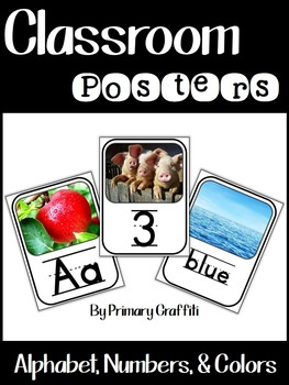 Classroom Resources Bundled {Real Photo Images}