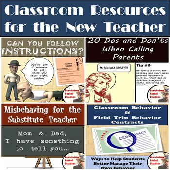 Classroom Resources for the New Teacher