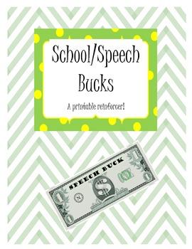 """Classroom Reward/Group Incentive printable - """"School/Speec"""