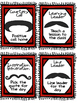 Classroom Rewards: Mustache Themed Positive Incentive Coupons