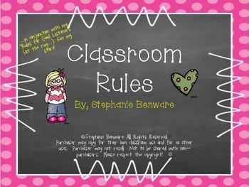 """Classroom Rules"""