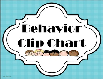 Behavioral Clip Chart & Noise O'meter