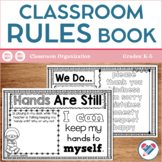 Classroom Rules Book