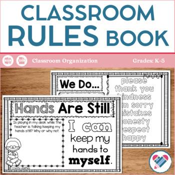 Classroom Rules Book