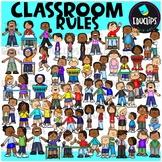 Classroom Rules Clip Art Bundle (Educlips Clipart)