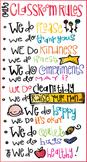 Classroom Rules Freebie by Melonheadz