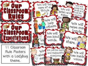 Classroom Rules - LADYBUG