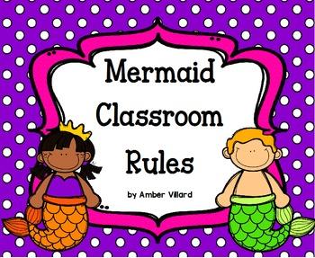Classroom Rules {Mermaid}