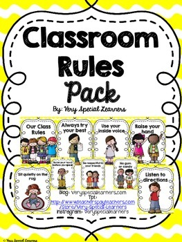 Classroom Rules Pack!