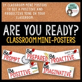 Classroom Rules Posters - Great for Back to School!