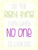 Classroom Rules Subway Art Styled Poster Pack- Rainbow