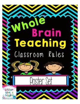 Classroom Rules {Whole Brain Teaching}