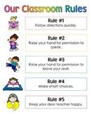 Classroom Rules - Whole Brain Teaching