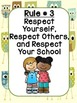 Classroom Rules with Owl Background