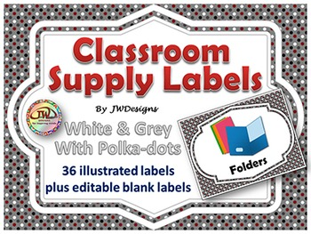 Labels - Classroom Supply Labels